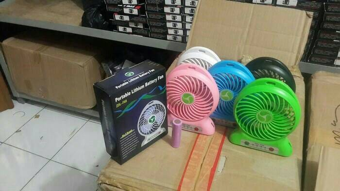 harga Power Bank Kipas Angin Mini Portabel Powerbank Fan Tokopedia.com