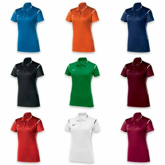 2809f73d Jual Murah Kaos Polo Shirt Cewek Nike DRI-FIT Team Gameday Polo ...