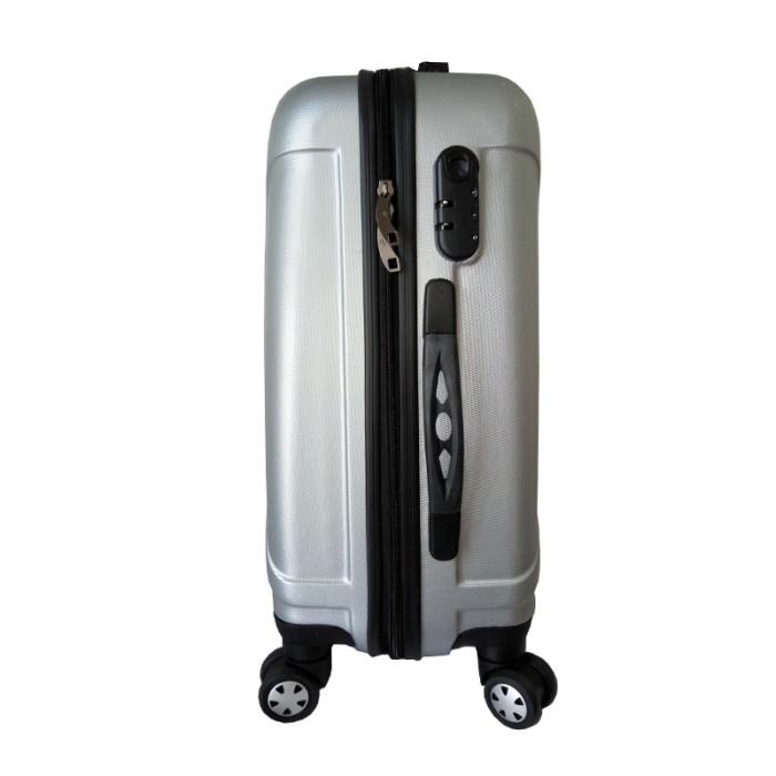 "Koper fiber Polo Maple ABS Vertical Stripe Six - B11 Silver 20"" ."