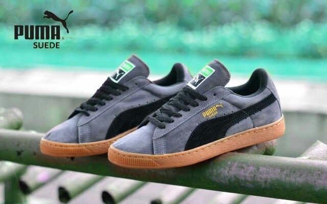 Best selling sepatu pria sneakers formal puma suede import