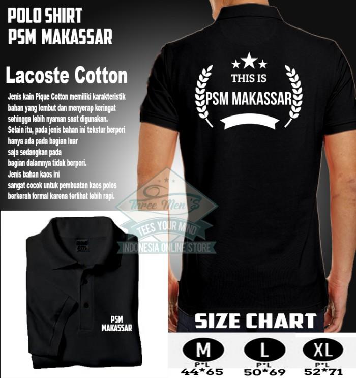 Jual Polo Shirt Kaos Kerah 2  THIS IS PSM MAKASSAR FC - plastik ... 189d0c9298