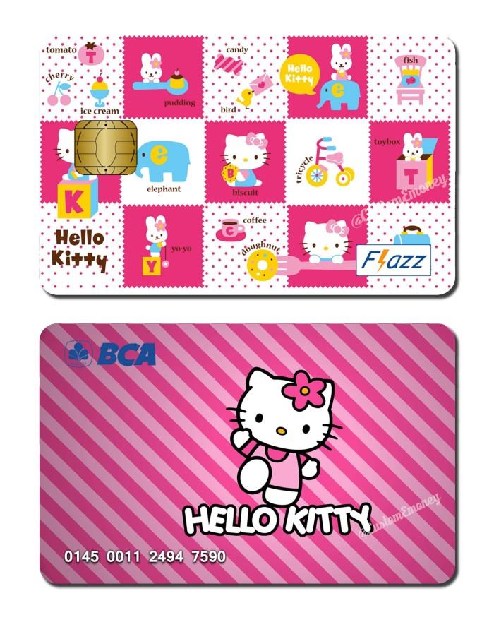 harga Kartu bca flazz custom design hello kitty Tokopedia.com