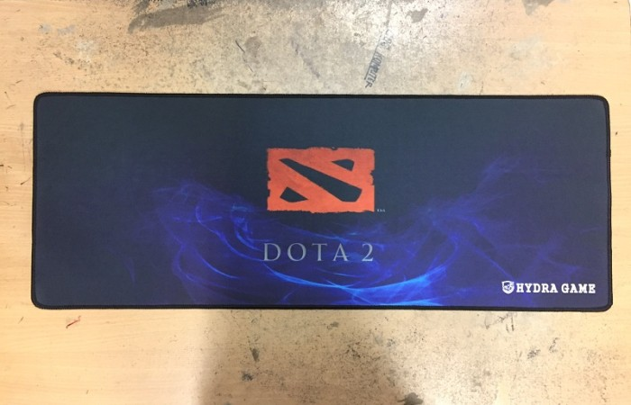 Hydra game dota2 blue - extended gaming mousepad