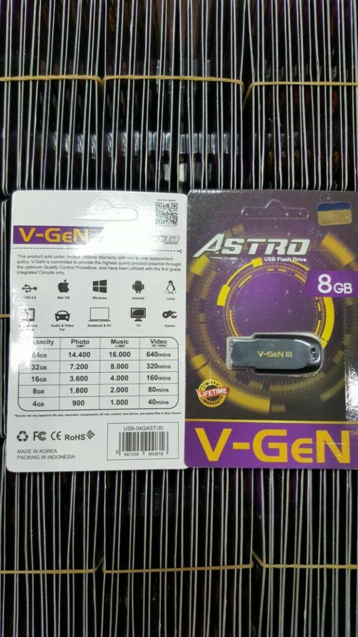 Jual Usb Flashdisk 8gb V Gen Astro 72 Card Tokopedia Vgen