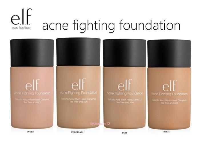 harga Elf Acne Fighting Foundation Tokopedia.com