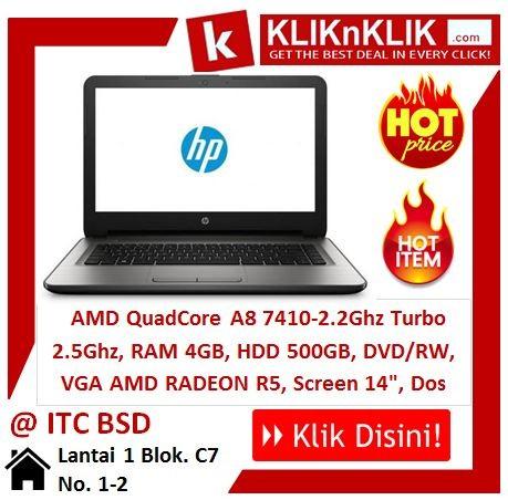 HP 14-an004au Silver Ram 4GB-VGA - 23707