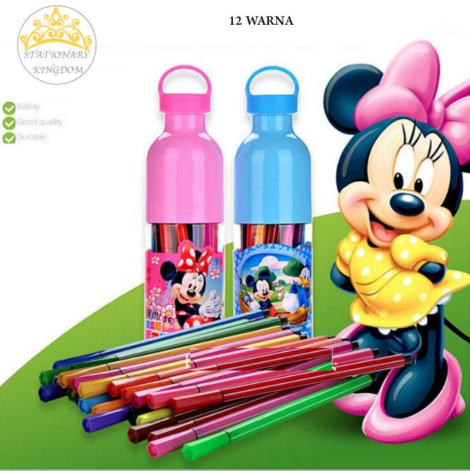 harga Mickey, spidol warna, spidol warna anak-anak, crayon, alat mewarnai Tokopedia.com