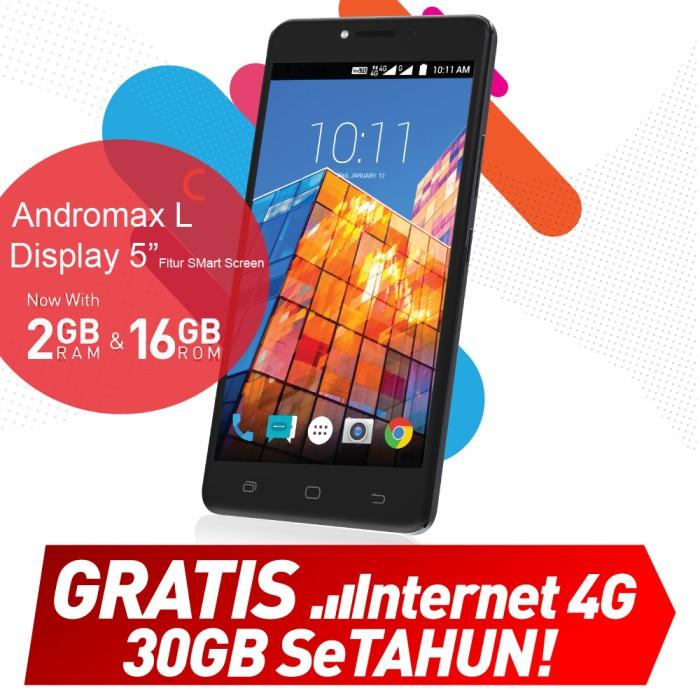 Smartfren andromax l 4g gratis internet setahun total 30 gb