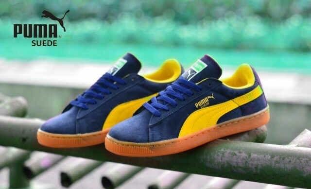 Foto Produk SEPATU PRIA SPORTY SNEAKERS PUMA SUEDE IMPORT dari gudang_sepatu