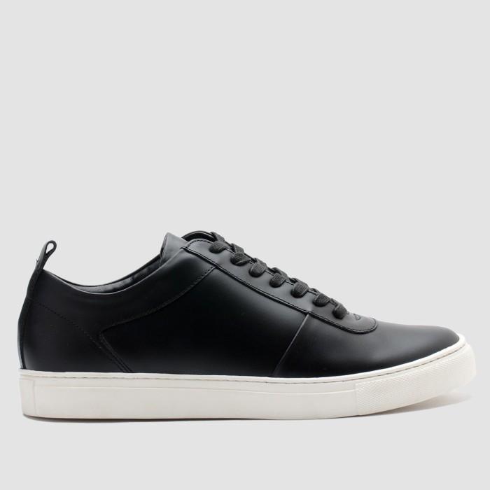 brodo [ wh sale] - sepatu pria origin black white sole