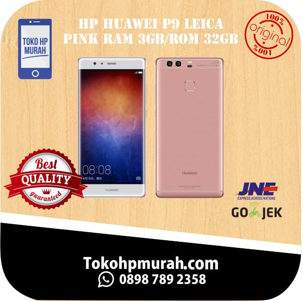 Jual HP HUAWEI P9 LEICA PINK RAM 3GB/ROM 32GB GARANSI RESMI HUAWEI INTER -  DKI Jakarta - Karangsarionline | Tokopedia