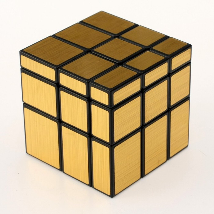 Jual Rubik Mirror 3x3 Yuxin Mirror Speed Cube Black Gold Jakarta Pusat Okelah Toko Tokopedia