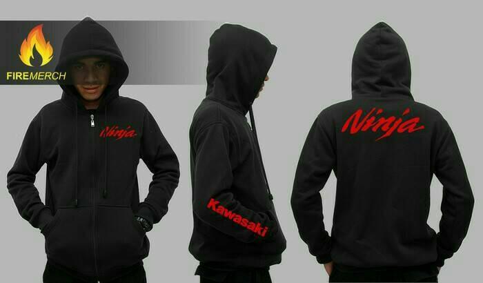 harga Hoodie/jaket/sweater kawasaki ninja club Tokopedia.com