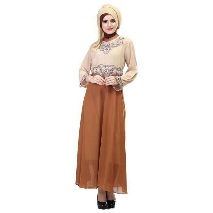 Jual Busana Muslim Wanita Gamis Infico 715 Kab Bandung Ria Shopee Tokopedia