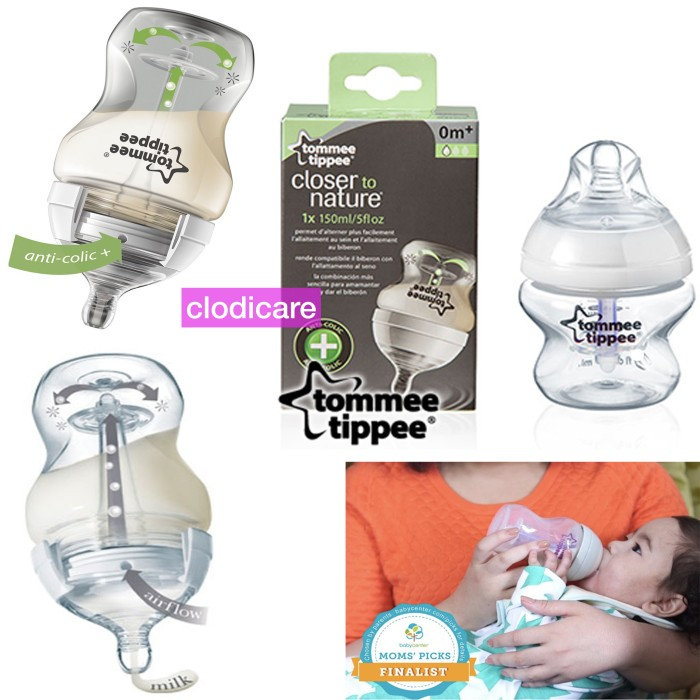 Tommee tippee botol susu bayi vented feeding bottle 150ml
