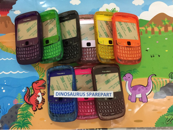harga Casing blackberry 8520 warna warni transparan fullset Tokopedia.com