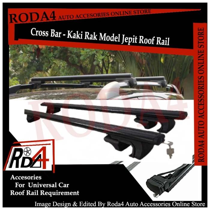 harga Cross bar / kaki rak model jepit roof rail universal Tokopedia.com
