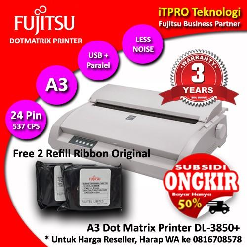 harga Fujitsu dl3850+ dot matrix printer a3 Tokopedia.com