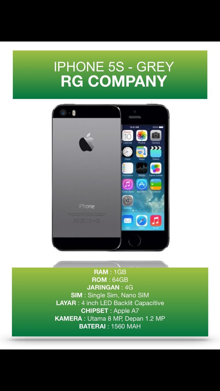 Apple Iphone 5s 64gb Grey Grade A Garansi 1 Tahun Distributor Page 5 Hot