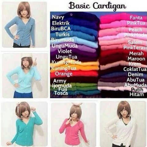 harga Cardigan basic sweater rajut cardi knit kardigan baju wanita kardi Tokopedia.com
