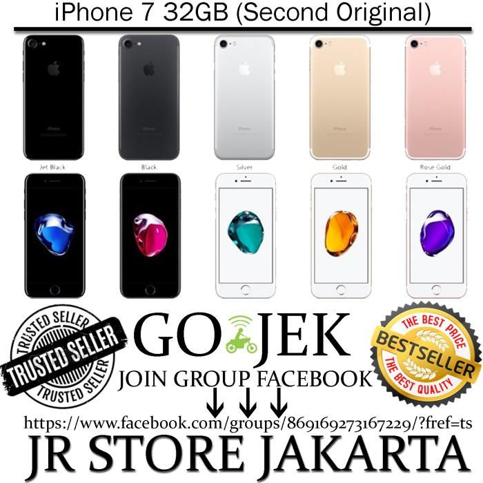 Jual Iphone 7 32gb Second Original Jr Store Batam Tokopedia