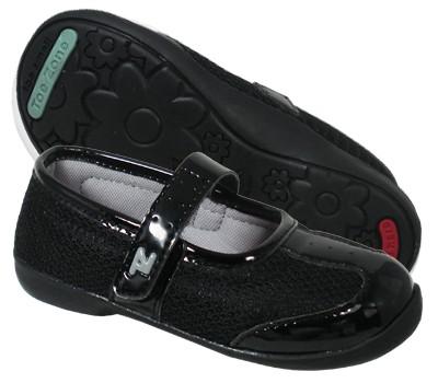 harga Sepatu anak toezone oshkosh - monroe inf (black/black) Tokopedia.com