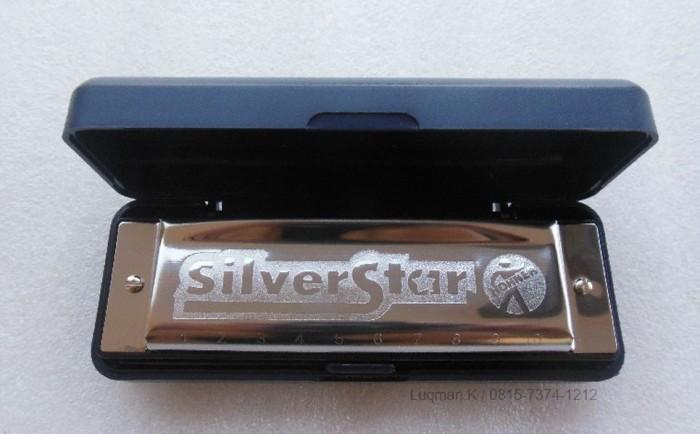 Foto Produk Harmonika Diatonic Hohner Silverstar dari Zeb Hobbies Store