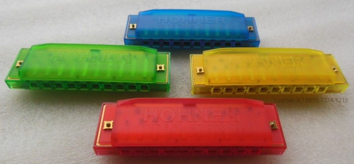 Foto Produk Harmonika Diatonic Hohner Happy Colour dari Zeb Hobbies Store