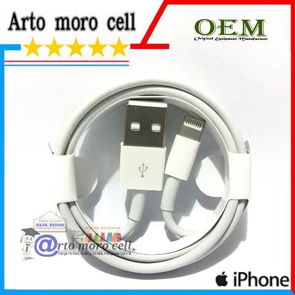 harga Kabel data iphone 5/5g/5s/6/6g/6s/6+/7/ipad 4/ipad mini original oem Tokopedia.com