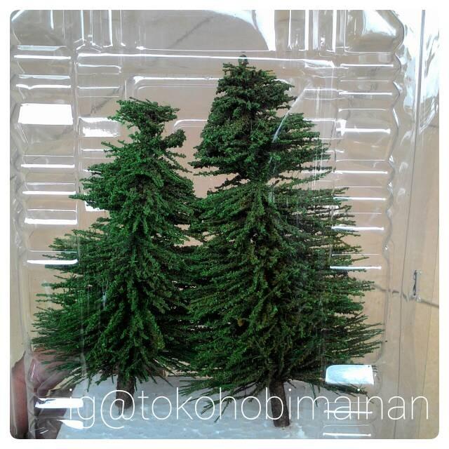 harga Pohon cemara - aksesoris maket diorama miniatur kereta api Tokopedia.com