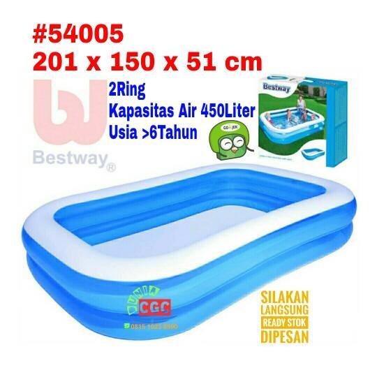 Jual Kolam Renang Bestway 54005 Ukuran 2 Meter Bola Mandi Anak Khusus Gojek Dki Jakarta Duniacgc2 Tokopedia