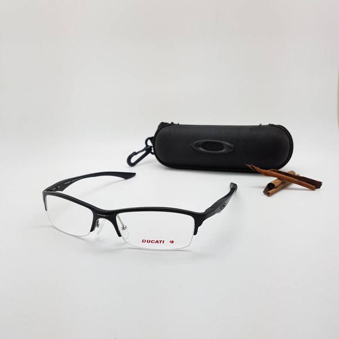 ... harga Kacamata   frame minus   plus oakley bracket alloy alumunium  (half) Tokopedia. 457d5da192