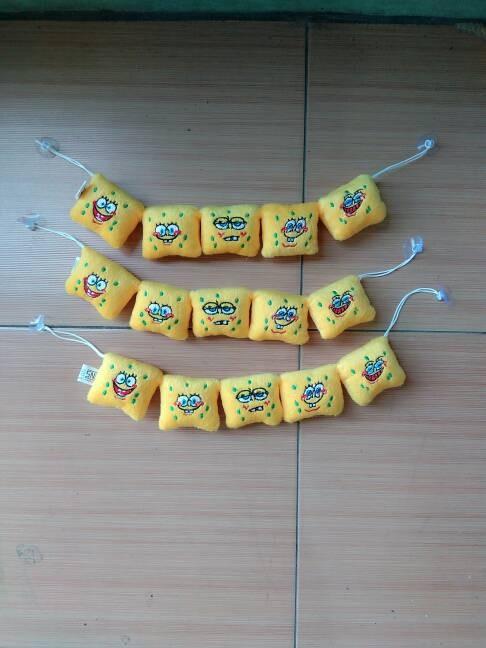harga Hiasan pajangan mobil dashboard tempelan kaca karakter spongebob Tokopedia.com