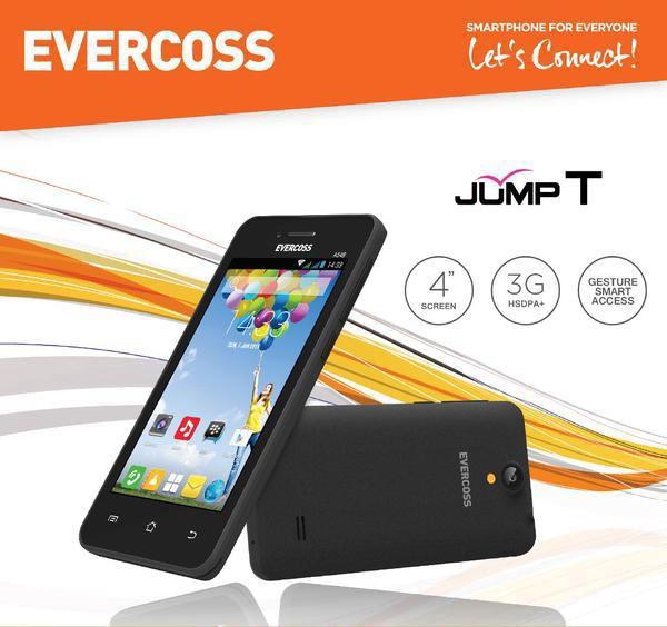 Evercoss a54b camera led flash 3g rom 512mb dual sim ...
