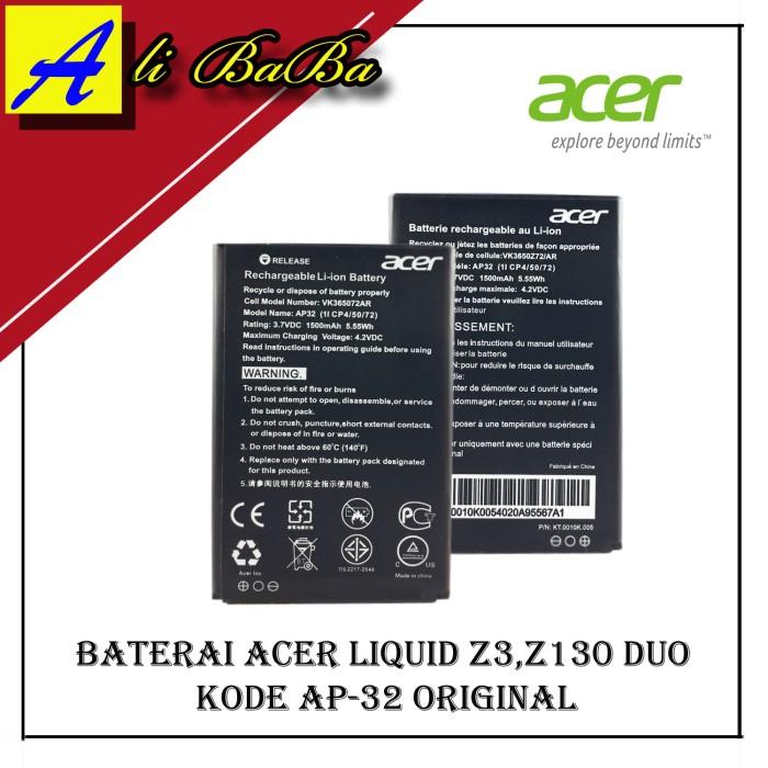 harga Baterai handphone acer liquid z130 duo - z3 dual sim battery original Tokopedia.com