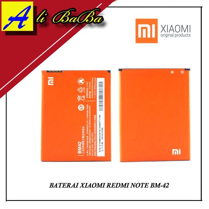harga Baterai handphone xiaomi redmi note bm-42 battery batre original Tokopedia.com