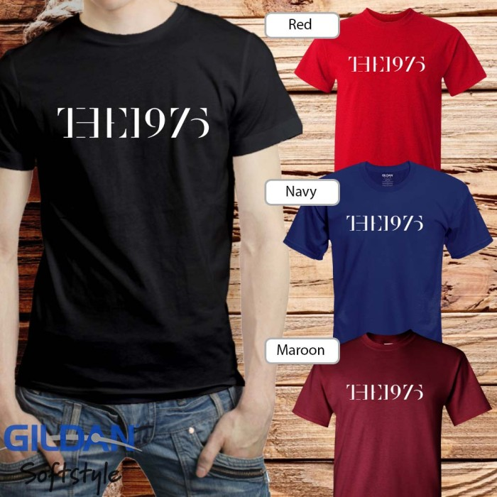 harga Baju kaos band the 1975 gildan distro grosir merchandise hits 16 Tokopedia.com