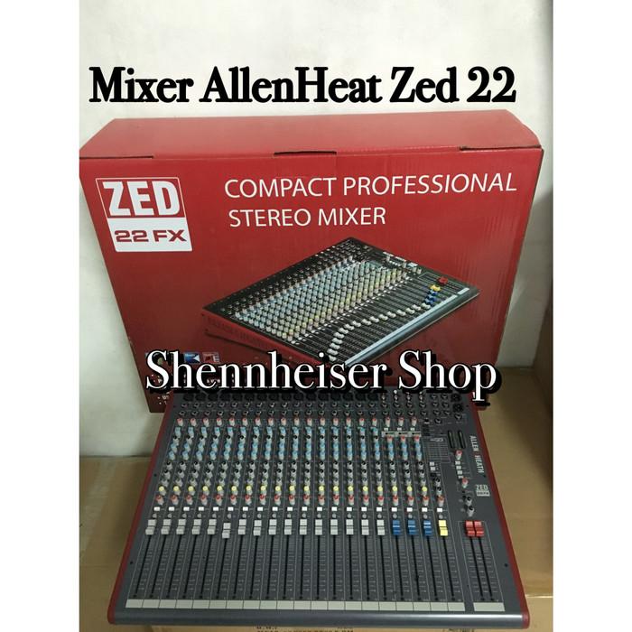harga Mixer allen&heath zed 22 fx Tokopedia.com