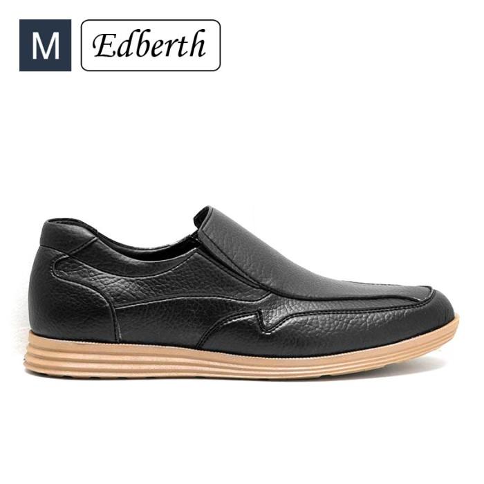 harga Sepatu pria edberth formal taalin hitam Tokopedia.com