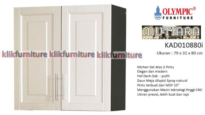 Jual Kad 010880i Olympic Mutiara Kitchen Set Atas 2 Pintu