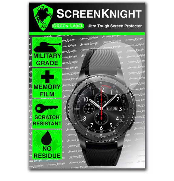 Samsung Gear S3 Classic Frontier screen protector anti gores