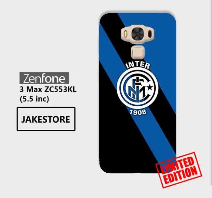 harga Limited case asus zenfone 3 max zc553kl inter milan fc stripe hardcase Tokopedia.com