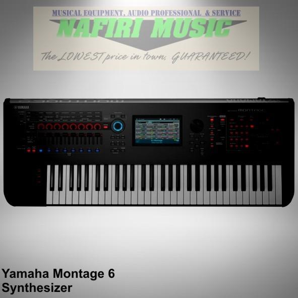 harga Keyboard synthesizer yamaha montage 6 / yamaha montage6 baru 100% Tokopedia.com