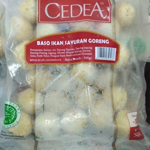 harga Cedea baso ikan sayuran goreng 500g Tokopedia.com