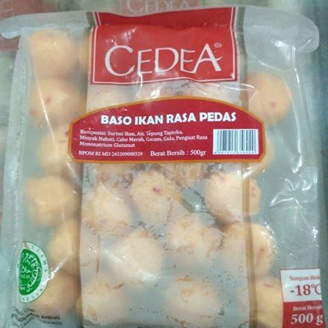 harga Cedea baso ikan pedas 500g Tokopedia.com