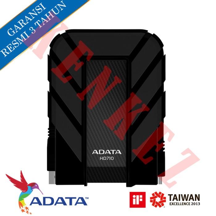 "ADATA HD710 Harddisk Eksternal 2.5"" 1TB/USB3.0 - Hitam"