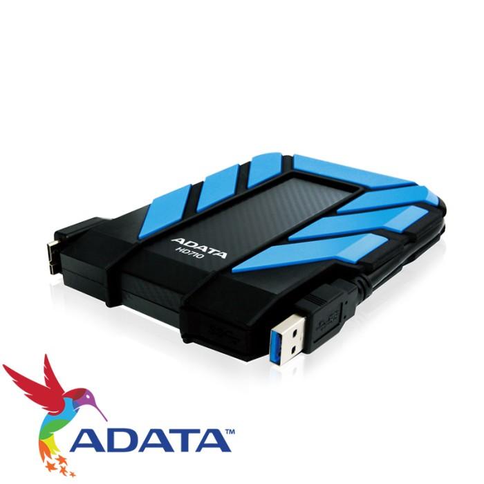 "ADATA HD710 Harddisk Eksternal 2.5"" 1TB/USB3.0 - Biru"