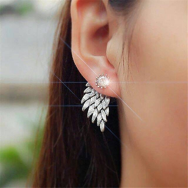 Anting bottom angel wing | aksesoris import murah lucu unik