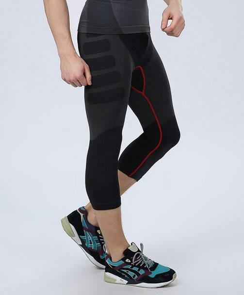 Jual Men 3 4 Compression Pants Celana Fitness Pria Squat Stretch Jakarta Pusat Medica Store Tokopedia