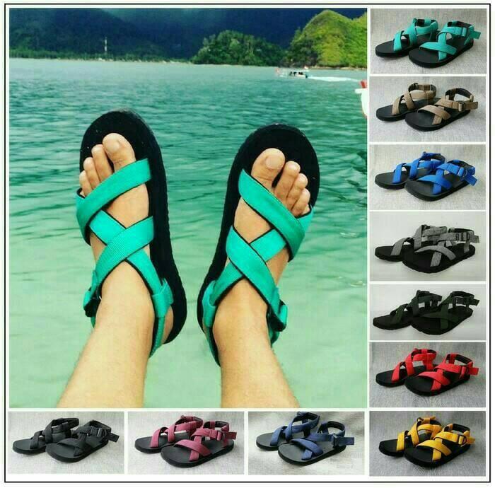 harga Sandal gunung | sandal outdoor | sandal pria wanita|free aksesoris Tokopedia.com